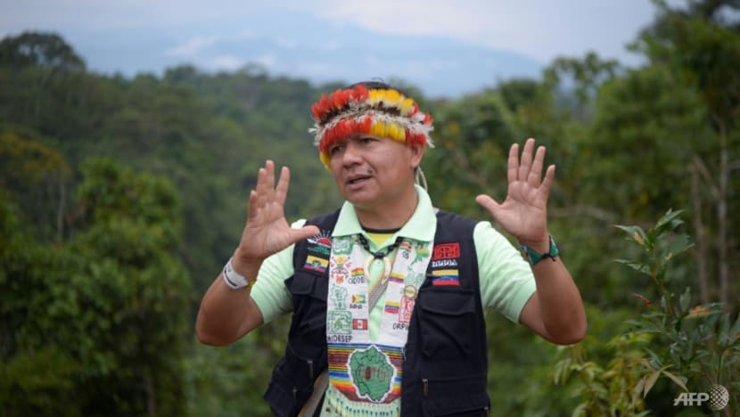 Indigenous leader warns Amazon ruin could spark global 'apocalypse'