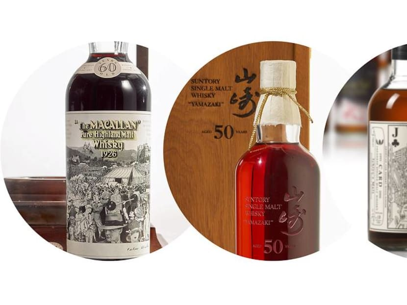 S$2.1m for a bottle of Macallan? The most expensive whiskies sold at auction