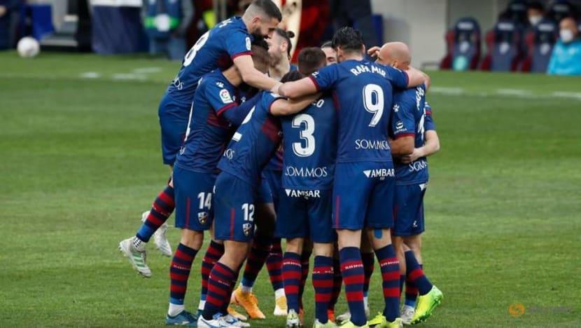 Football: Varane double spares Real Madrid's blushes at Huesca