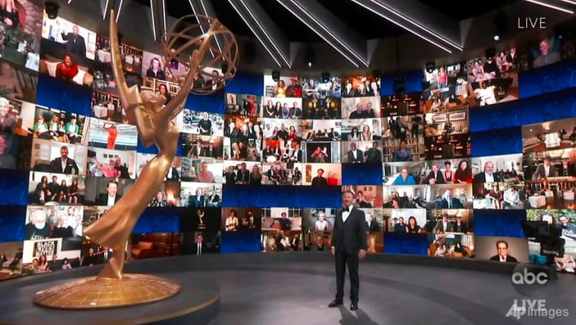 Emmy Awards: The weird and wonderful highlights from this year's 'Pandemmys'
