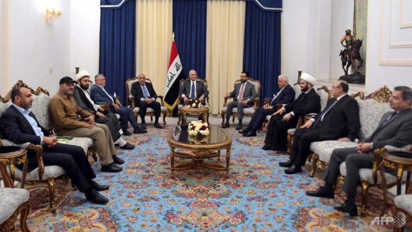 Iraq government chiefs, Hashed top brass discuss drone attacks