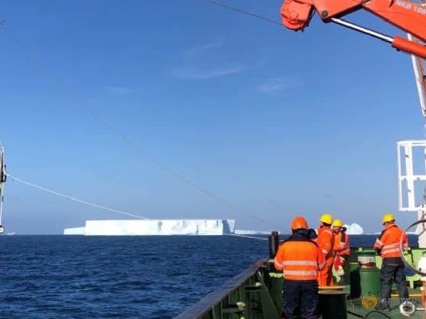 Robot gliders probe huge iceberg's impact on penguin island's ecosystem