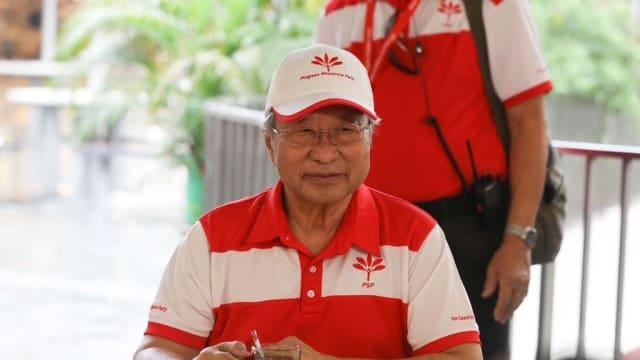陈清木卸下前进党秘书长一职 由阮健平接任