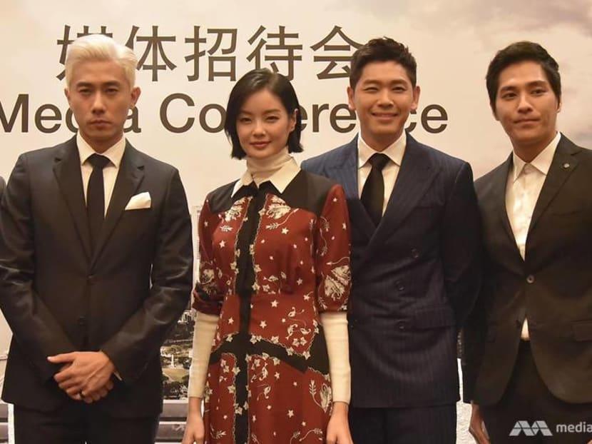 Blue Lan, Romeo Tan, Desmond Tan to star in new Taiwan-Singapore TV drama