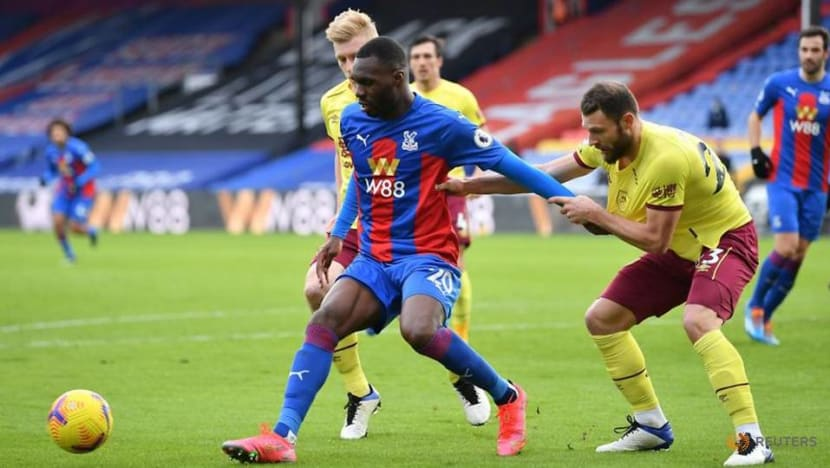 Low-scoring Burnley upset Palace with 3-0 away win