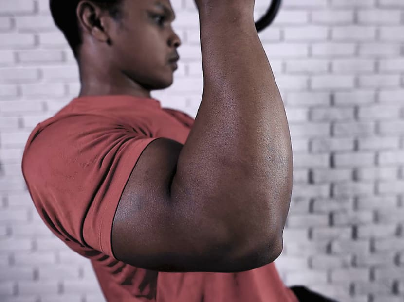 Next-Level Workout: How to build bigger biceps and a stronger core