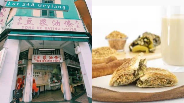 永和豆浆闯大巴窑、盛港等邻里 烧饼+豆浆外带享用