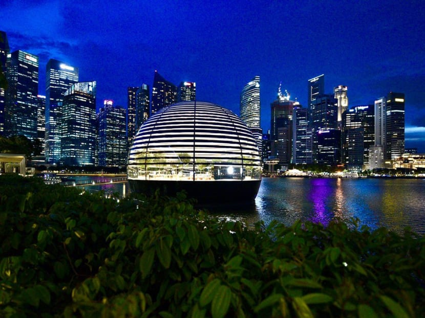 World's first floating Apple Store officially opens Sep 10 at Singapore's Marina Bay Sands