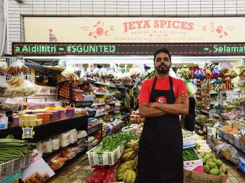 A young man learns his father's 'magic': The story of Yishun's Indian spice store