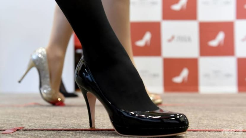 High heels 'necessary', Japan minister says after petition