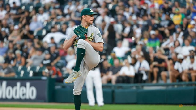 Baseball-Oakland pitcher Bassitt 'conscious the entire time' after being hit on head