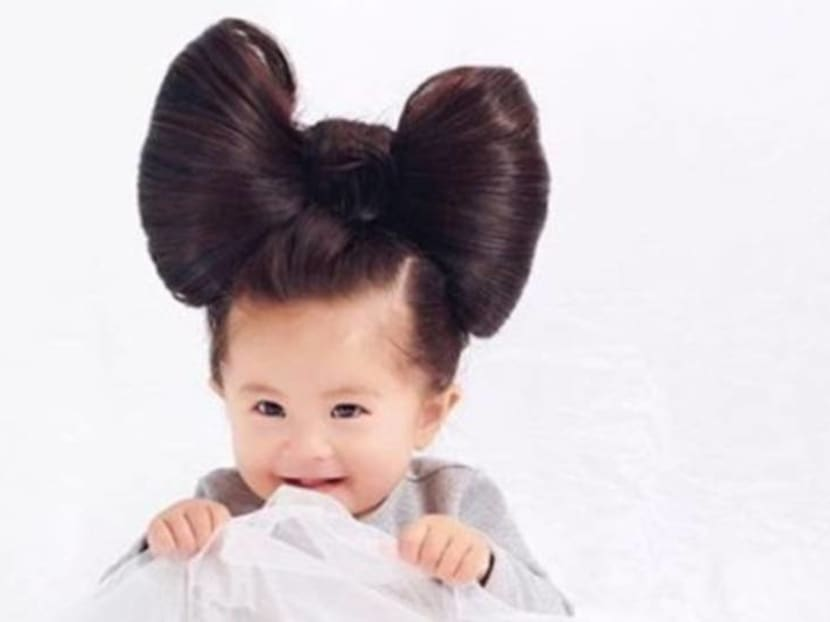 New Pantene ad features Japanese baby and her luxurious locks