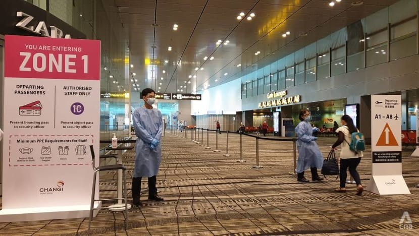 Changi Airport to segregate workers based on COVID-19 exposure risk