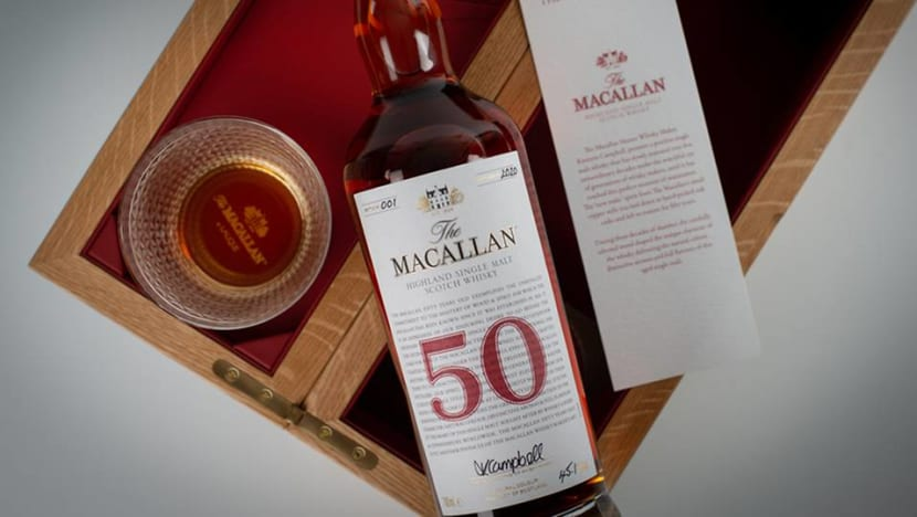 Now in Singapore: A rare collection of the world's oldest Scotch whiskies