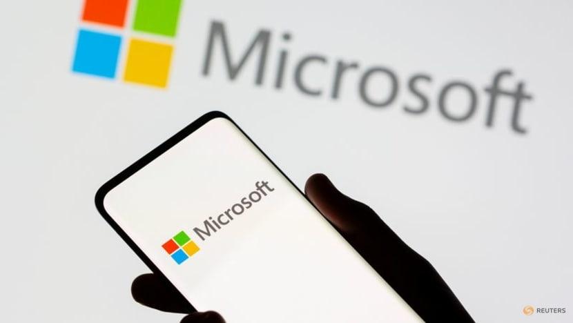 Microsoft shares edge higher on US$60 billion buyback program