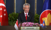 Singapore urges Myanmar to cooperate with ASEAN, 'gravely concerned' with situation in country: PM Lee