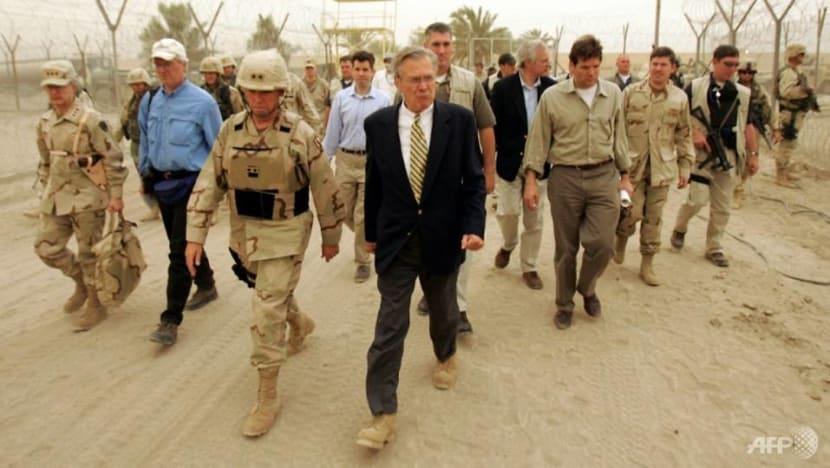 Few tears in Iraq for 'occupier' Rumsfeld