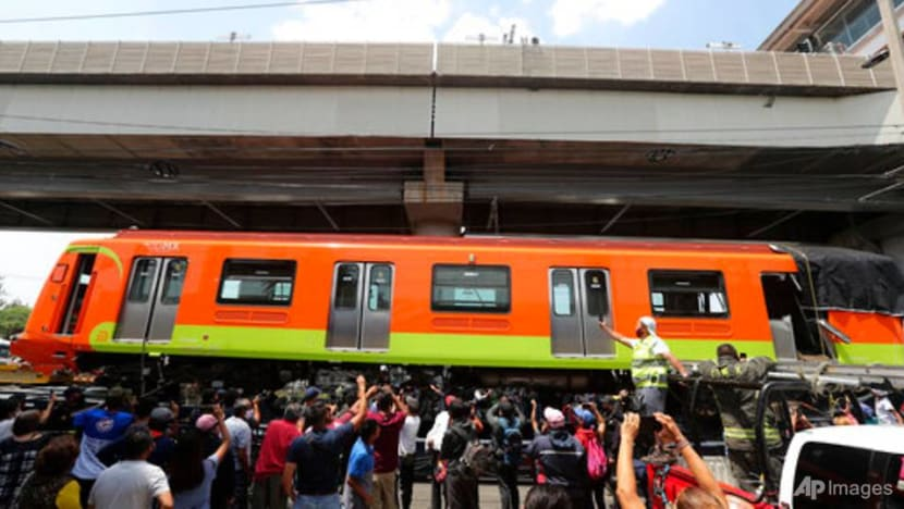 'They found his cellphone': Families tell of desperate searches after Mexico metro collapse