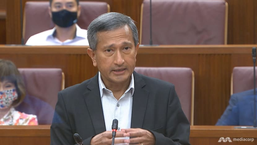 Police can only ask for TraceTogether data through person involved in criminal probe: Vivian Balakrishnan
