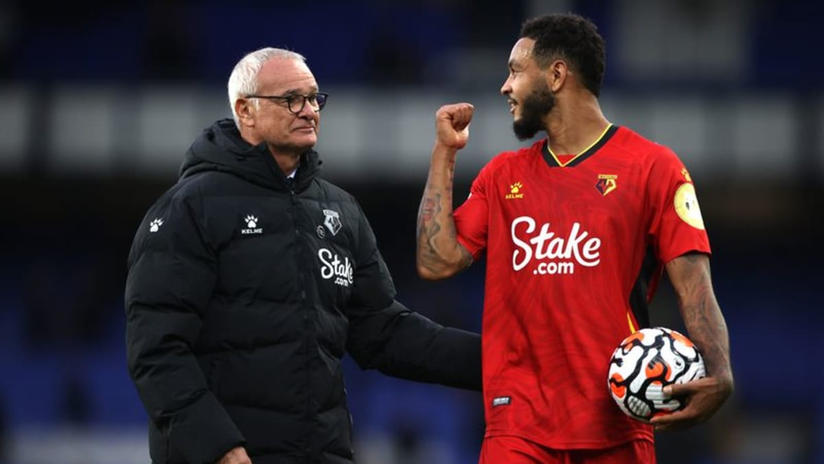 King reigns supreme as Watford beat Everton 5-2 for Ranieri's first win