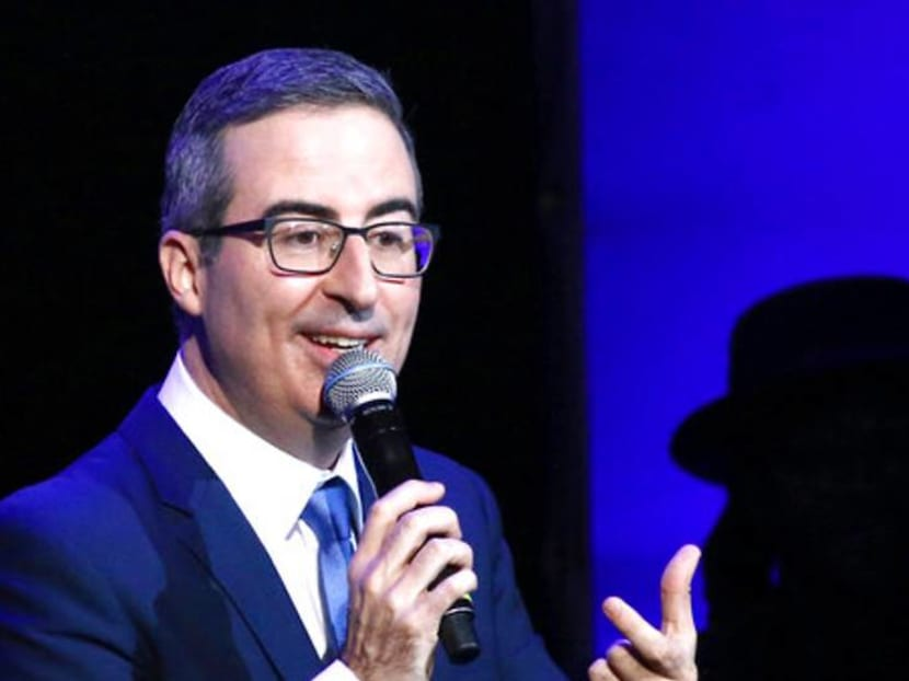 US city naming sewage plant after comedian John Oliver after he rants about it