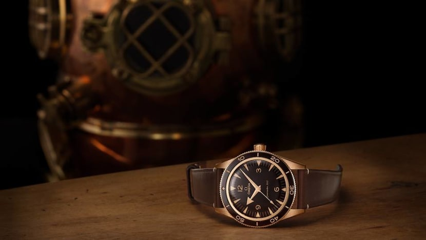 Omega now has a bronze vintage-inspired watch for people who hate bronze