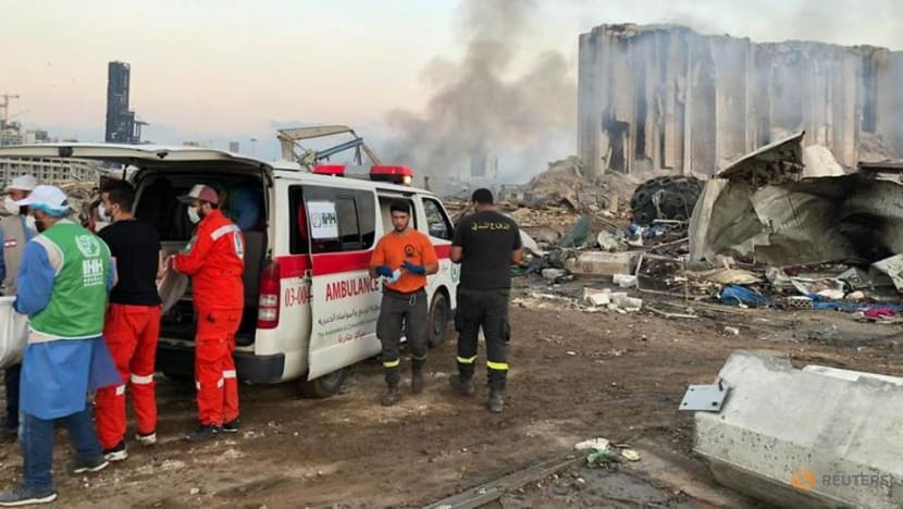 Lebanese residents band together to clean up streets after deadly blast