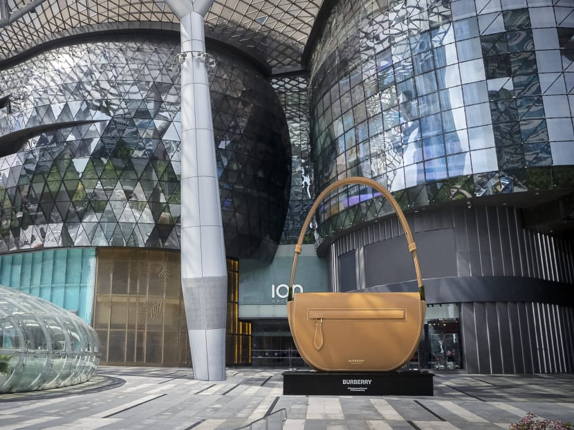 Don't miss this IG moment: A giant luxury bag at ION Orchard