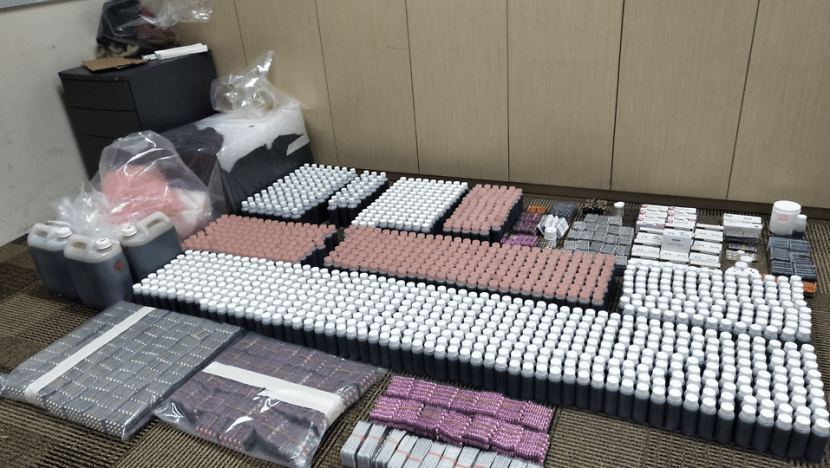 S$80,000 worth of illegal cough syrup, other medicine seized