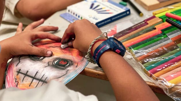 'Not just for people with big problems': How art therapy can unlock hidden trauma