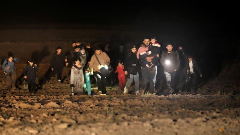 Latvia starts pushing back migrants at tense Belarus border