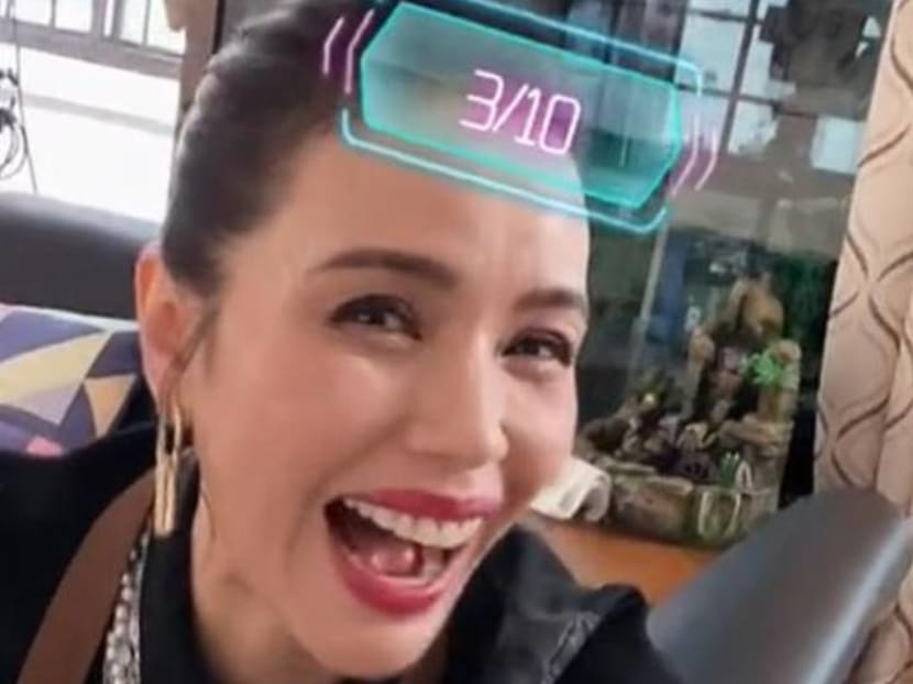 Zoe Tay gets 3 out of 10 rating on TikTok filter that rates looks – and finds it hilarious