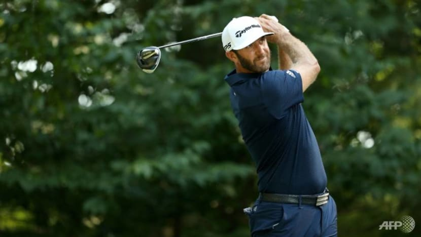 Golf: Johnson romps to 11 shot win at Northern Trust