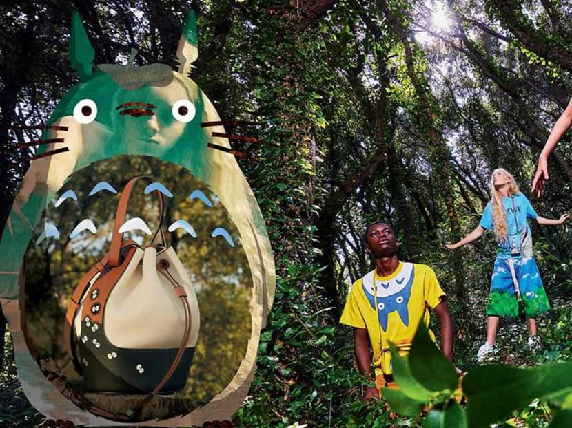 Kawaii! Loewe's new Totoro collaboration is one for fans of the classic anime