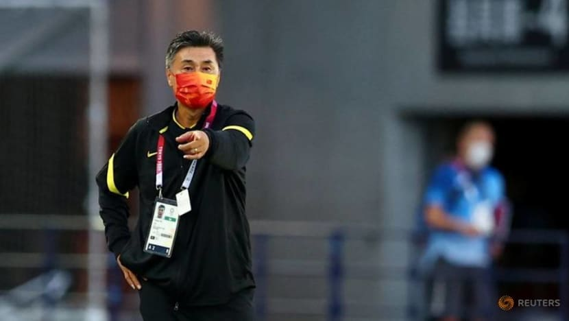 Olympics-Soccer-China women's revival will take generations, says coach Jia