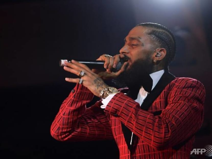 Grammy-nominated rapper Nipsey Hussle shot dead outside his LA clothing store