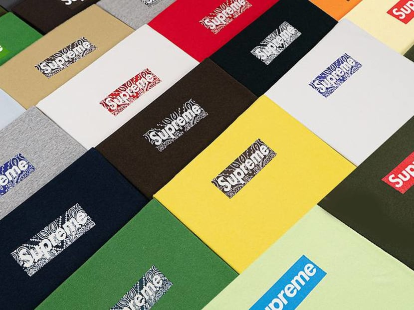 Supreme fans can own every box logo T-shirt ever made – for US$2 million