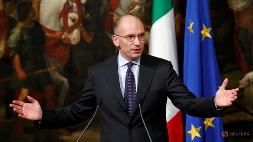 Former Italian PM Letta takes helm of fractious Democrats