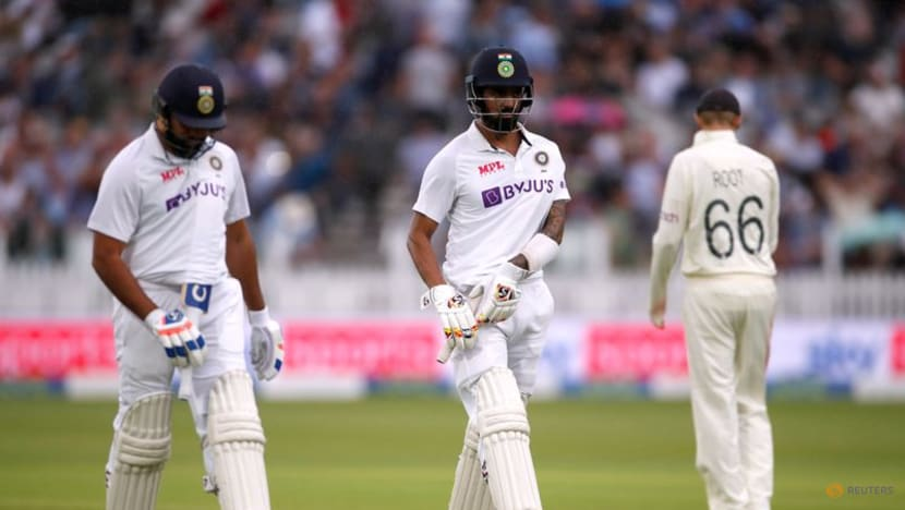 Cricket: Rahul, Rohit fire as India make England bowlers toil at Lord's