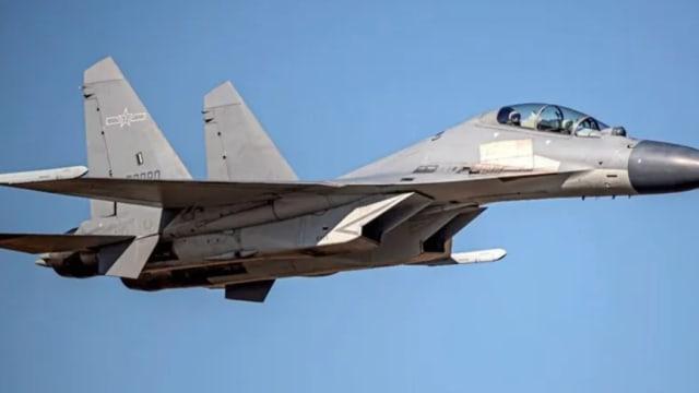 台湾表示中国38架战机昨日进入防空识别区 创历来新高