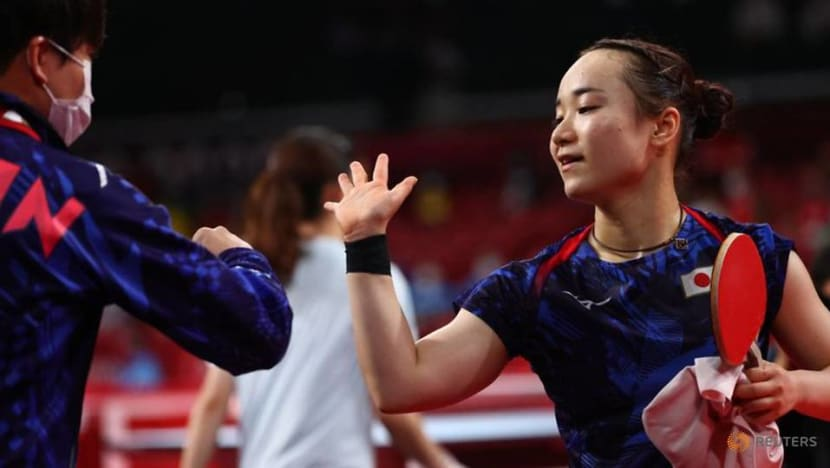 Olympics-Table Tennis-Japanese singles medal favourite Ito fired up after wins