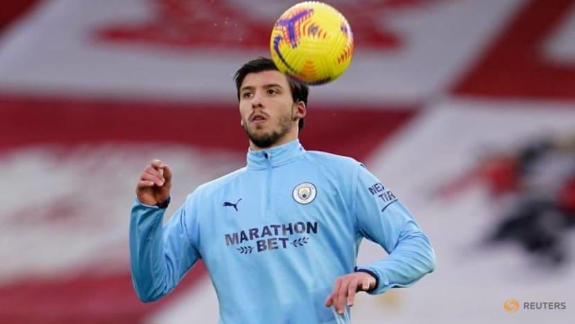 Soccer-Man City's Dias named FWA Men's Footballer of the Year