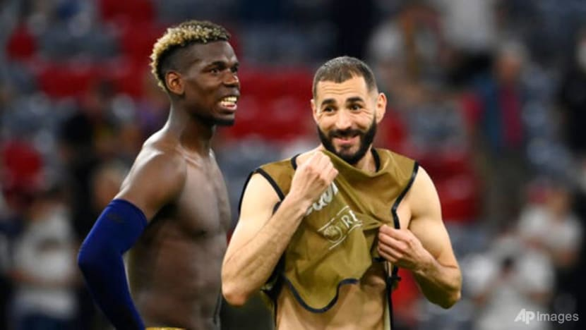 Football: France's Pogba lucky to have perfect sidekick in Kante