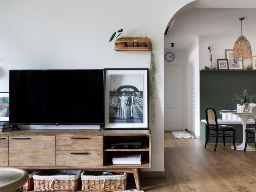 A 4-room BTO flat inspired by a couple's Mediterranean holiday memories