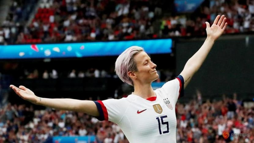Soccer-Rapinoe questions her inclusion in FIFA team of year
