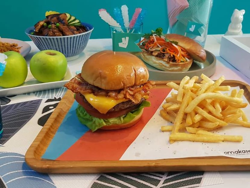 Deliveroo opens physical dining space featuring Omakase Burger, Nam Nam Noodle Bar