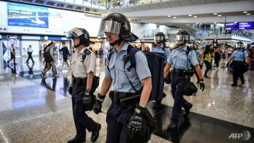 Hong Kong airport announces special measures for rail services as protesters plan to block traffic