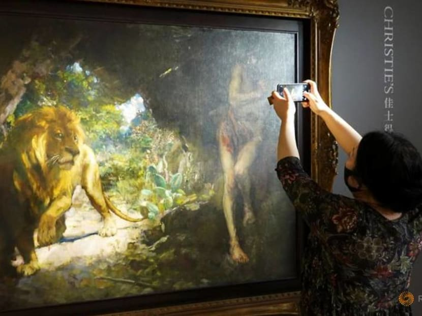 Christie's to auction 'highest-estimated Asian artwork' in Hong Kong