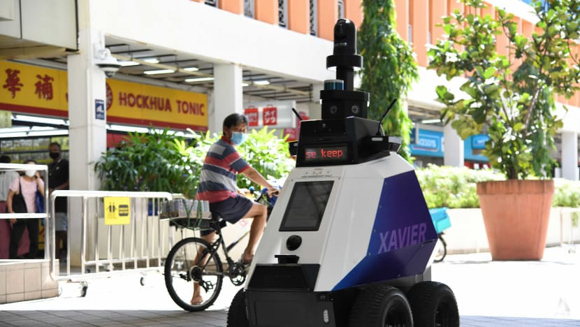 Robots to patrol Toa Payoh for 'undesirable social behaviours' as part of trial