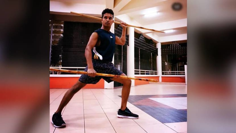 Migrant worker who performed traditional Indian martial arts wins top prize at talent competition
